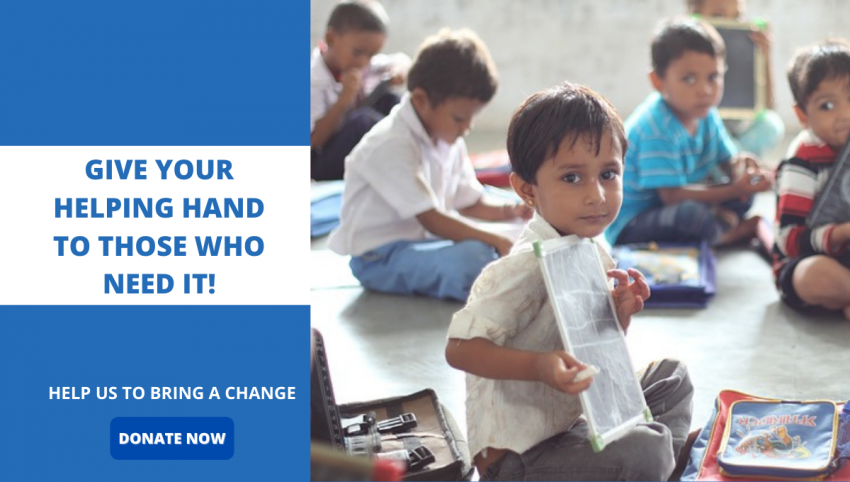 Join Our NGO For Poor Children In Delhi NCR